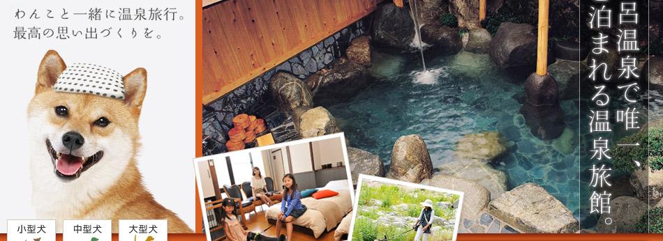 わんこと一緒に温泉旅行!名湯・下呂温泉で唯一犬と泊まれる温泉旅館。